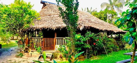 Bungalow Lodge in the jungle (Cabaña privada)