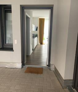 Der Eingang in die Wohnung
