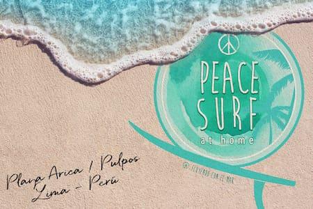 Departamento rústico: PEACE SURF at Home
