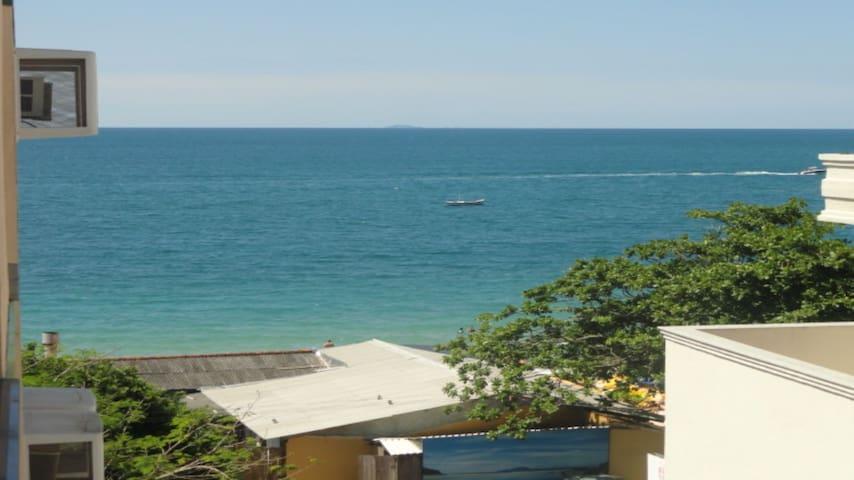 Canasvieiras - ap. último andar e vista para o mar
