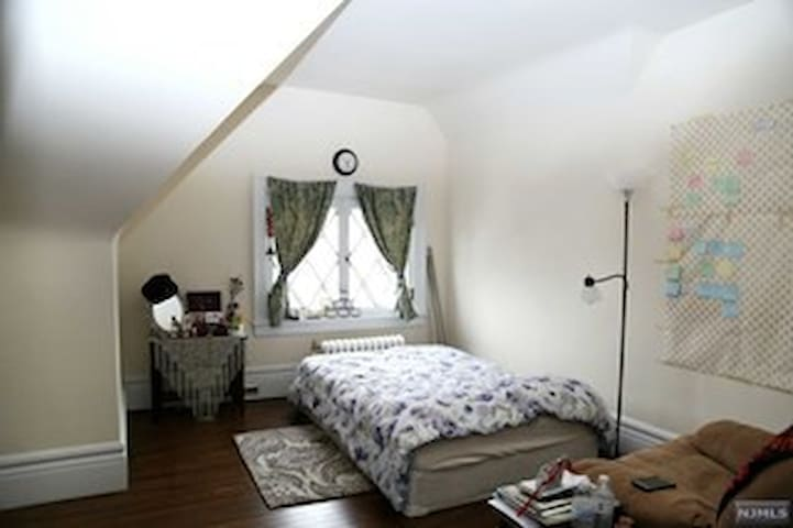 The Starlight bedroom. Perfect for a college or graduate student
