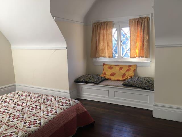 The sunny bedroom