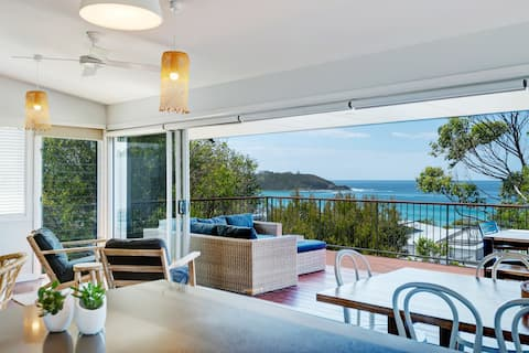 """""""The Whale House"""" at Mollymook"""