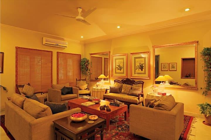 ★2BHK Independent Flat w/Garden | C-Scheme, Jaipur