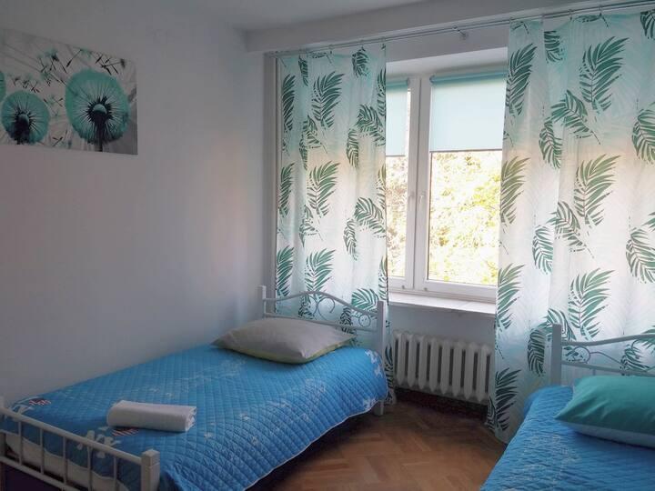 Pokój 2 osobowy z 2 łóżkami