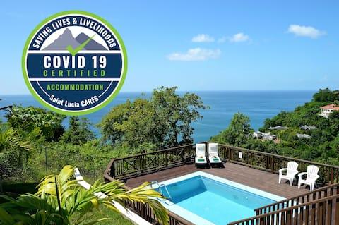 ★Pérola de Marigot villa inteira & piscina apenas para você