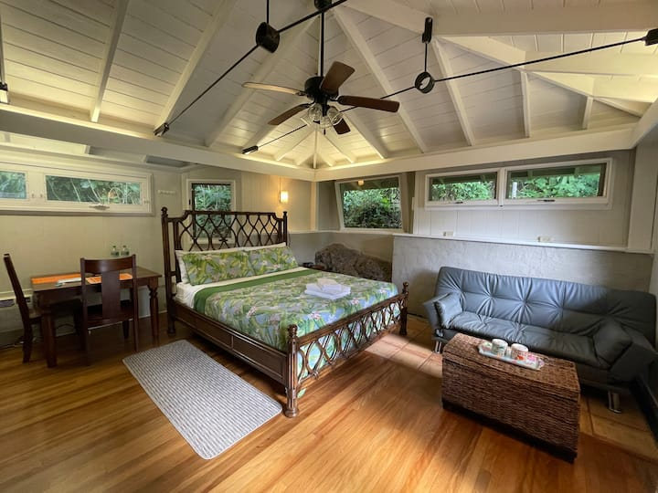 Lava room- Private and simple in Manoa