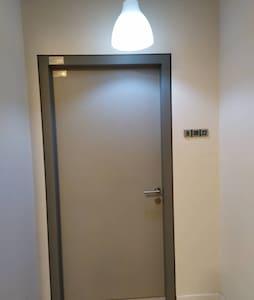 Wide door entrance