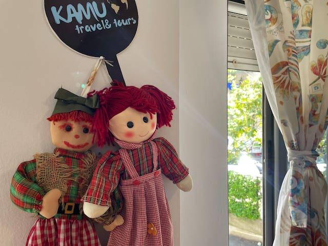 Apartment favorite dolls.