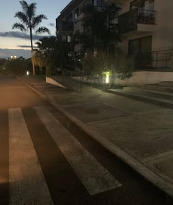 Rampa y lámparas