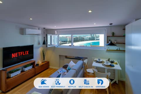 Orzan Beach 1 by TheBlueWaveApartments.com