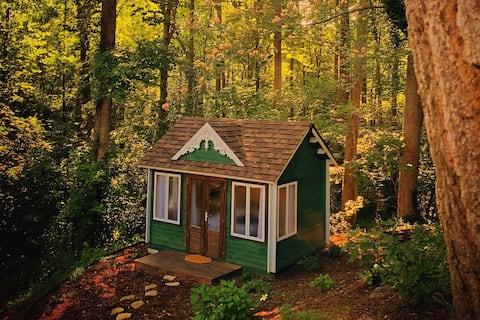De gezellige cottage op Grateful Meadows