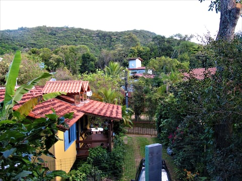 Casa - 3 quartos  natureza Campeche  Florianópolis