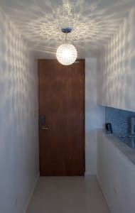 Bright lighted Entrance