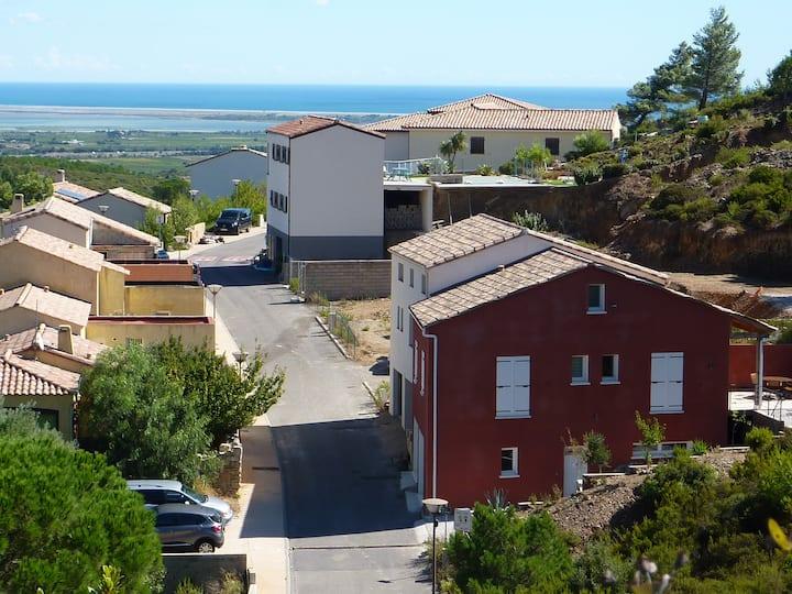 Maison en corbières maritimes, Treilles