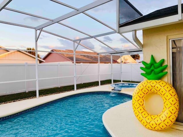 Beautiful 3BR House w/ Private Pool near Disney