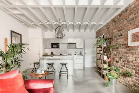 Industrial Chic Loft Apartment for Four Guests