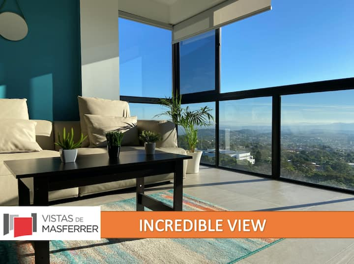 NEW luxury apartment with incredible view