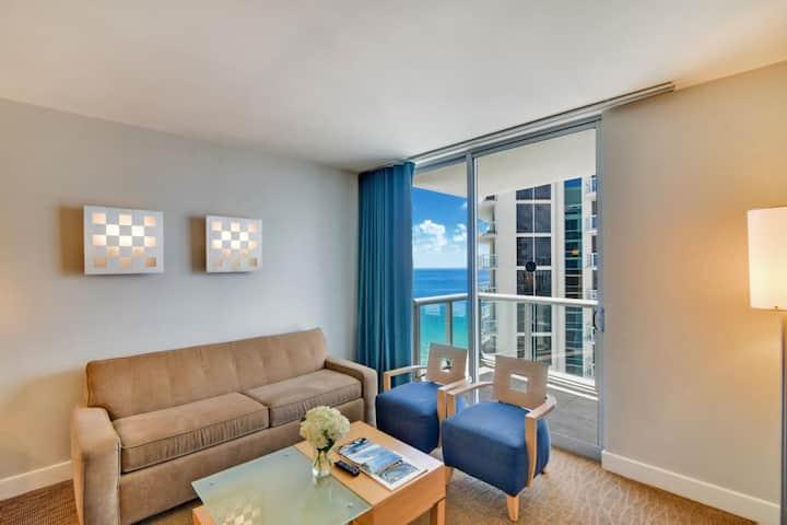 1/1 ocean view apt Marenas Resort