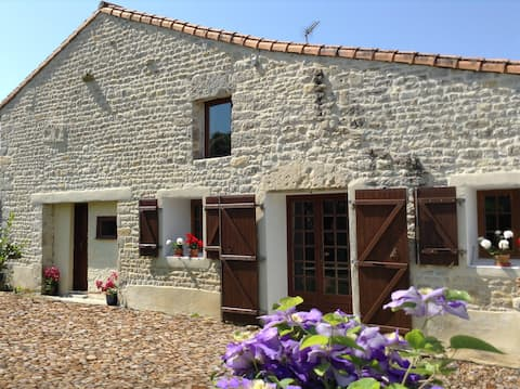 Comfortable apartment in rural French village