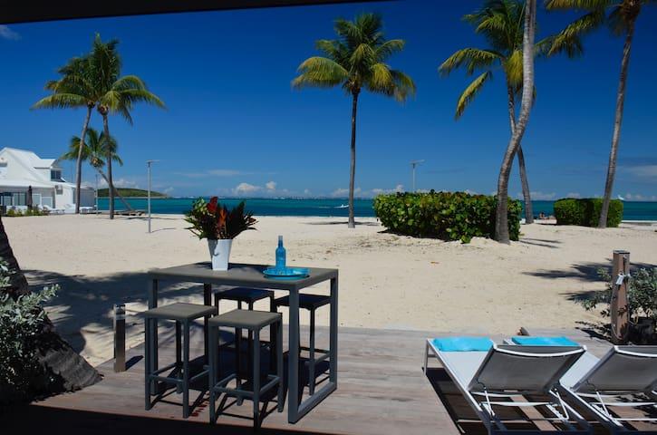 "Beautiful duplex ""Le Diamant"", on the beach"