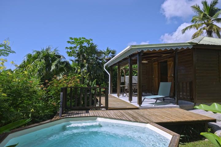 Aloé Cottage avec votre piscine privée au sel