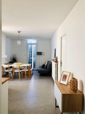 Superbe appartement moderne et lumineux T3, Vauban