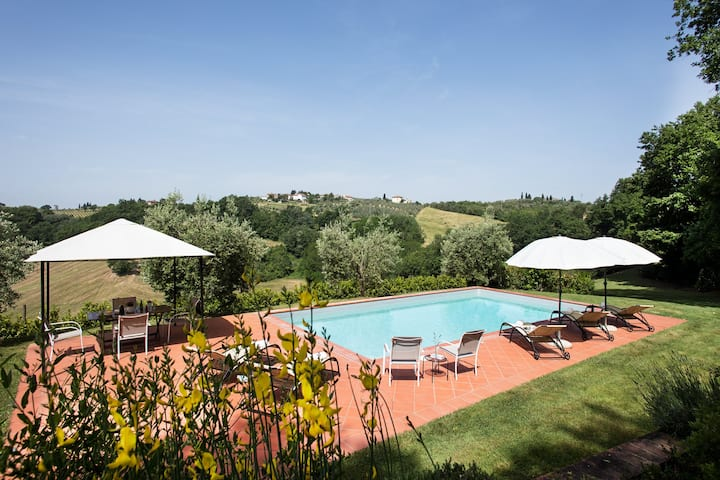 Villa Tirinzano for up to 16 with private pool
