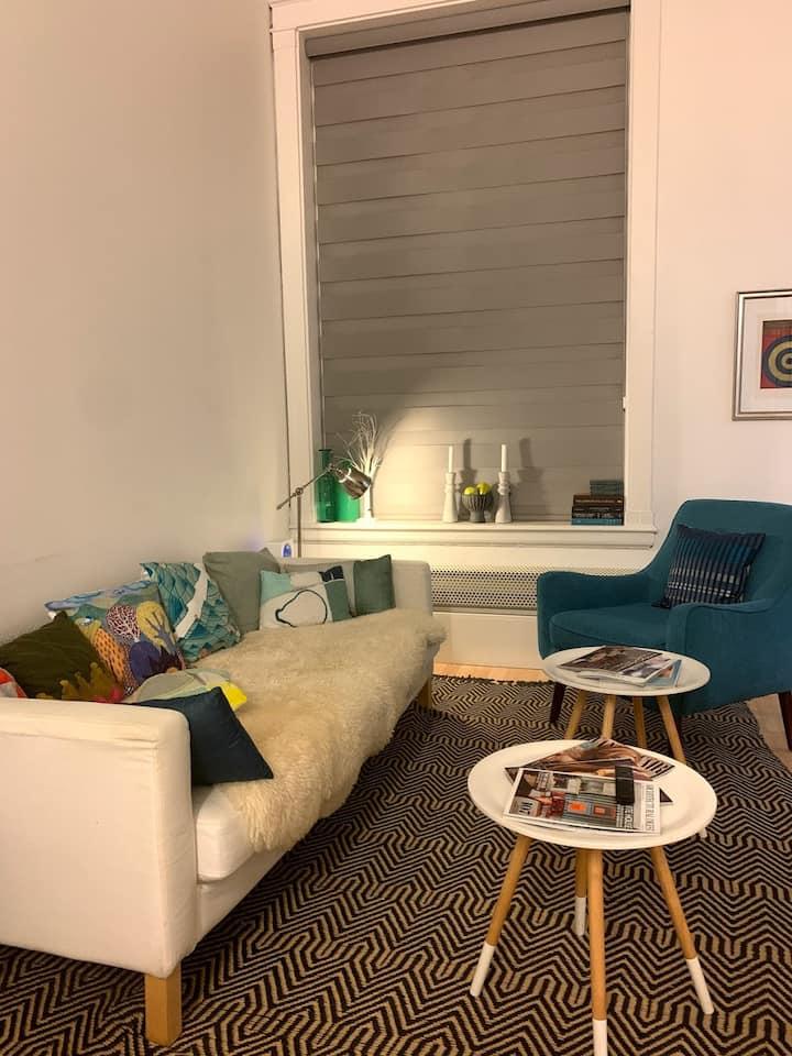 Modern condo 1 bed + loft - downtown SF (30+ days)