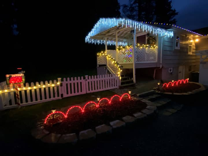 Private Christmas in Woodinville-Hot tub/Wineries!