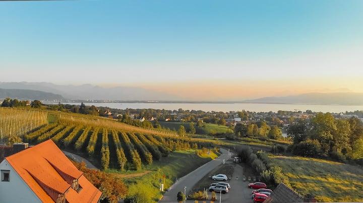 Aufstehen mit Ausblick-Apartment in Lindau