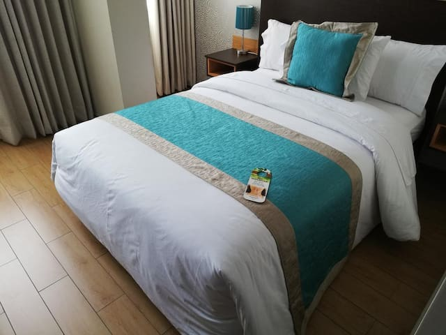 Comfortable, cool and elegant bed