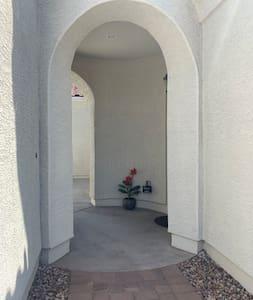 Large entrance