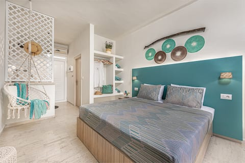 Aggeliki Studios for 2 guests in Laganas!