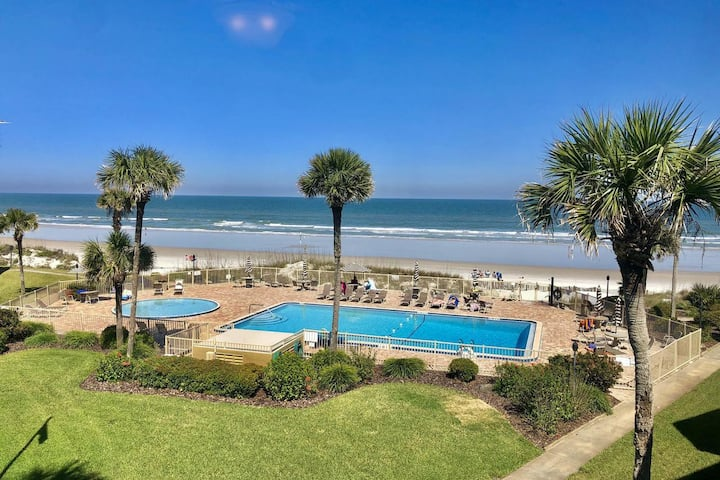 Entire Oceanfront Condo with Private Beach & Pool