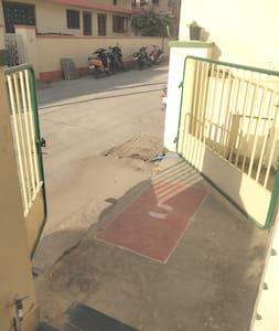 Ultra wide entrance
