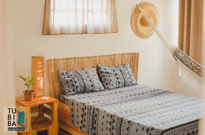 Tubiba hostel - double room #2 1min from the beach