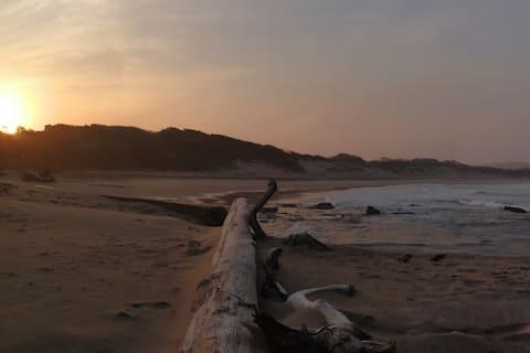 Trafalgar (South Coast) beach with a stunning view