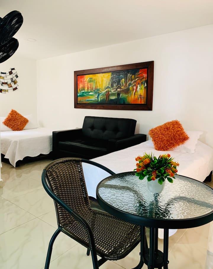 Hotel Lleras Premium-304 Habitación privada