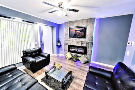 ❤️ Fast CHECK-IN ❤️ 4 Bdr & 4 Beds, House.