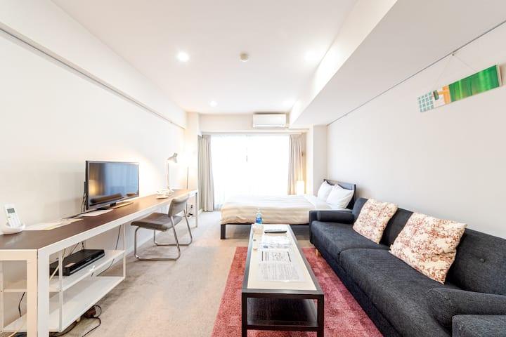 702_BUREAU TAKANAWA/Shinagawa/Remotework&Free wifi