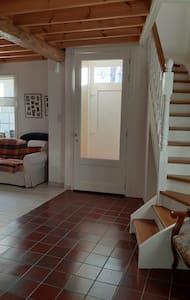 voordeur smaller dan tweede deur (hall)