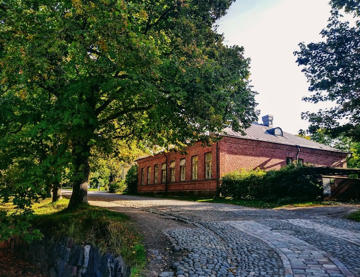 Double Room with Shared Bathroom in Suomenlinna