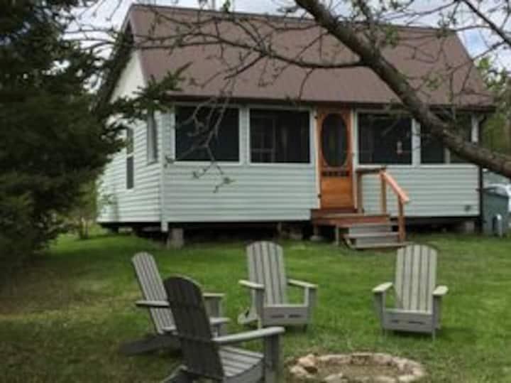 Cute Canadian Cottage on an Organic Farm