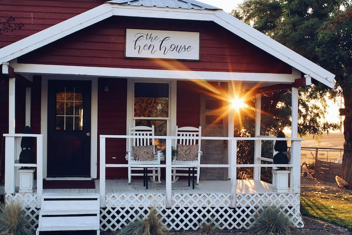 The Hen House: A real farm cottage experience!