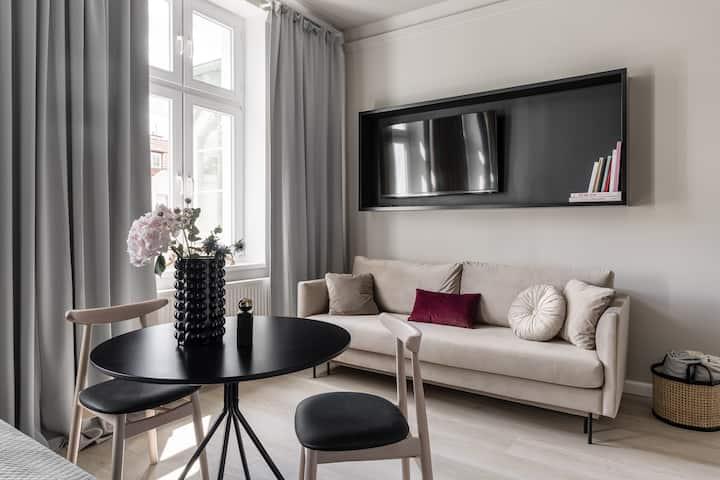 Cudowny Apartament z Wanną w Sopocie