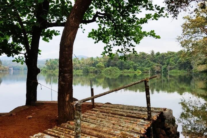 By the river, Ernakulam