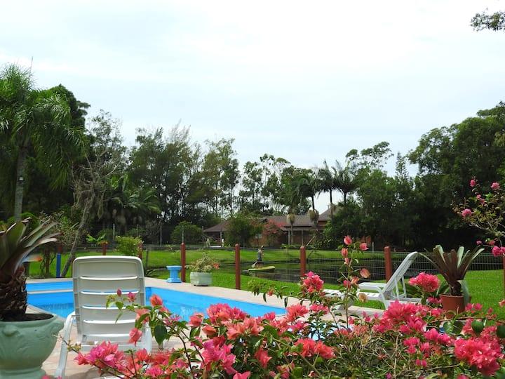 Casa Itapeva - Torres - com piscina, e lindo patio