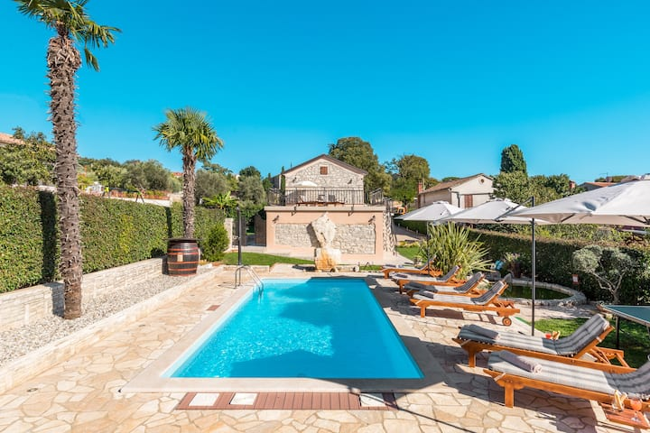 Villa Alma-old stone Istrian house