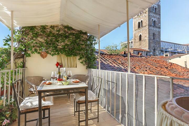 Delightful apartment Amazing terrace